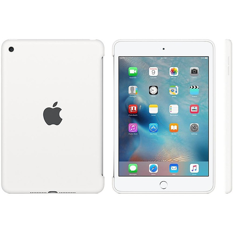 â£ipad mini 4 sil case - white