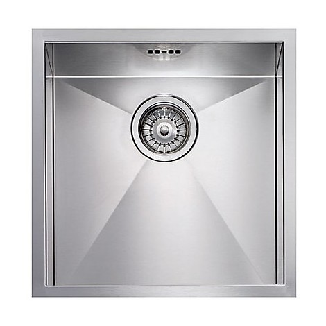 "012201 cm lavello inox filo quadra 8 3"" 45x45x19  incasso bordo 8mm"