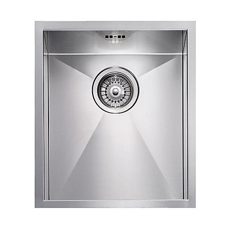 "012204 cm lavello inox filo quadra 8 3"" 39x45x19  incasso bordo 8mm"