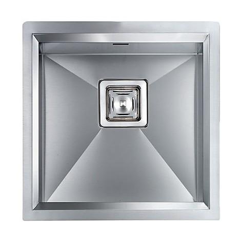 """012801 cm lavello inox glamour 3"""" 45x45x19 incasso slim"""