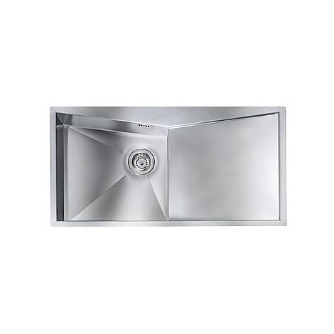 """012866 cm lavello inox space 3"""" 100x50 1 vasca a sinistra con piletta automatica"""