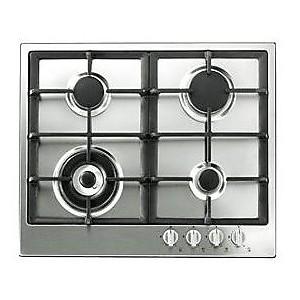 pcn 642 t/ix hotpoint/ariston piano cottura a gas 4 fuochi inox 60 ... - Cucina Quattro Fuochi