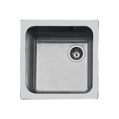 1114062 foster lavello 454x454 mm 1 vasca senza sgocciolatoio inox ...