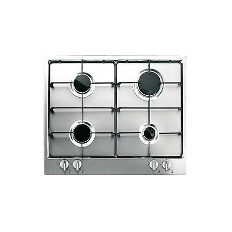 1406101 elegance 6x5-4 inox blanco piano cottura 4 fuochi a gas 60 cm inox