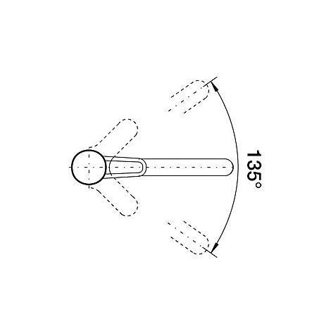 1511276 orion cromato blanco miscelatore