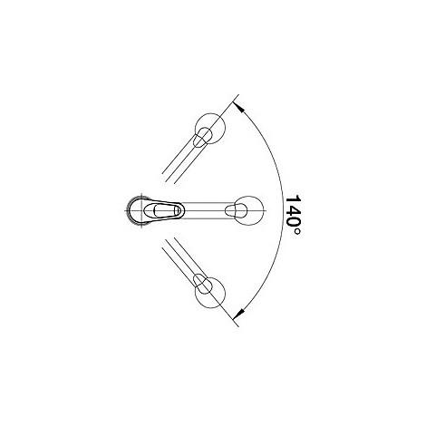 1512038 wega-s blanco miscelatore alumetallic silgranit