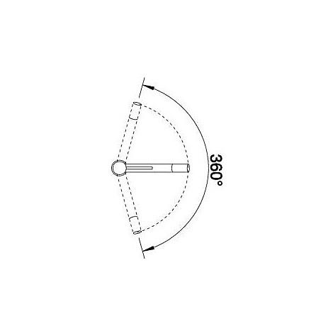 1512319 alta cromato blanco miscelatore