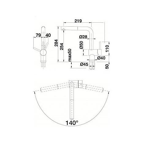 1512402 linus-s cromato blanco miscelatore