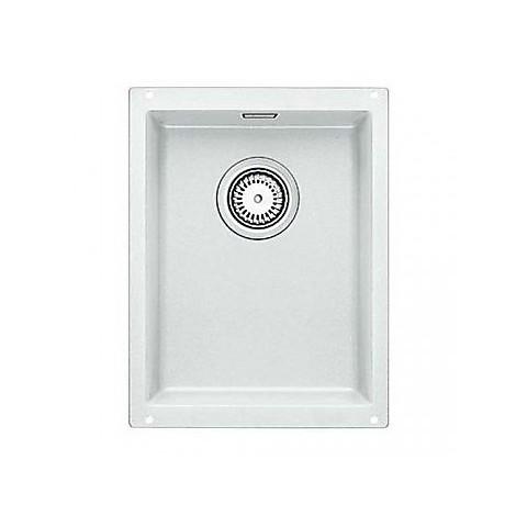 1513401 subline 320-u bianco blanco lavello 35x46 1 vasca senza sgocciolatoio silgranit sottotop