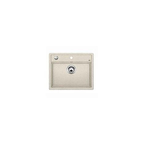 1514195 dalago 6 sabbia blanco lavello 62x51 1 vasca senza sgocciolatoio silgranit sopratop
