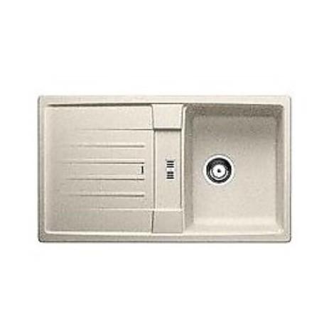 1514665 lexa 45 s sabbia blanco lavello 86x50 1 vasca reversibile silgranit