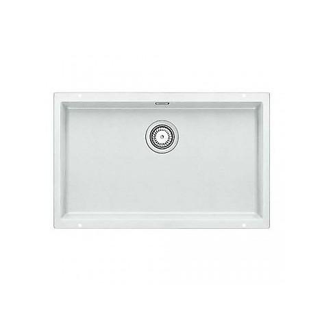1515774 subline 700-u bianco blanco lavello 73x46 1 vasca senza ...