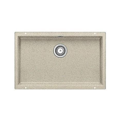 1515777 subline 700-u sabbia blanco lavello 73x46 1 vasca senza sgocciolatoio silgranit sottotop