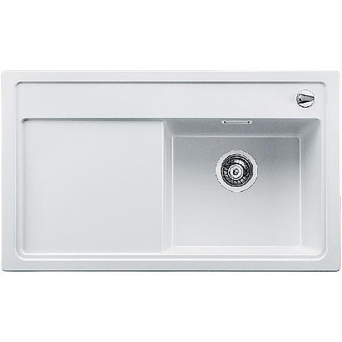 1516662 zenar 45 s bianco blanco lavello 120x61 1 vasca sgocciolatoio a sinistra silgranit