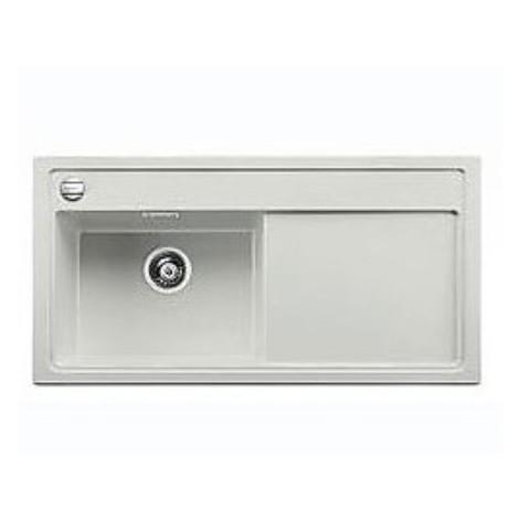 1516959 zenar xl 6 s grigio blanco lavello 100x51 1 vasca sgocciolatoio a destra silgranit sopratop