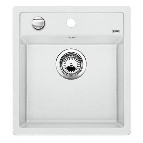 1517160 dalago 45 bianco blanco lavello 47x51 1 vasca senza sgocciolatoio silgranit sopratop