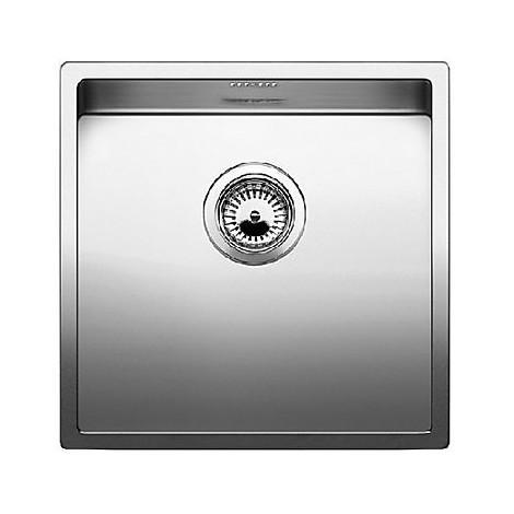 1517213 claron 400-u blanco lavello 44x44 1 vasca senza sgocciolatoio inox satinato sottotop
