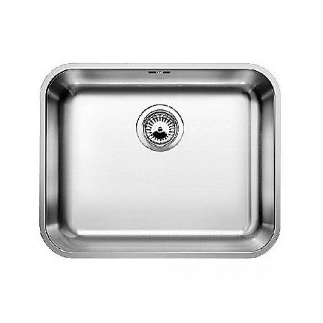 1518205 supra 500-u blanco lavello 53x43 1 vasca senza sgocciolatoio inox
