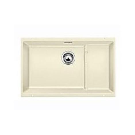 1518394 subline 700-u level blanco lavello 73x46 1 vasca senza sgocciolatoio silgranit jasmine