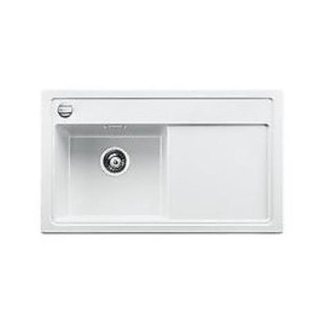 1518471 zenar 45 s bianco blanco lavello 120x61 1 vasca sgocciolatoio a destra silgranit sopratop