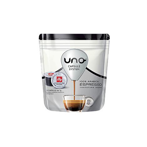 16 capsule caffe' per uno tostatura scura illycaffe
