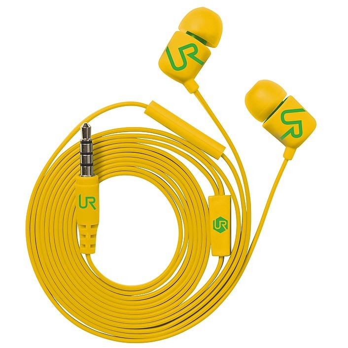19879 trust cuffie in-ear duga yellow