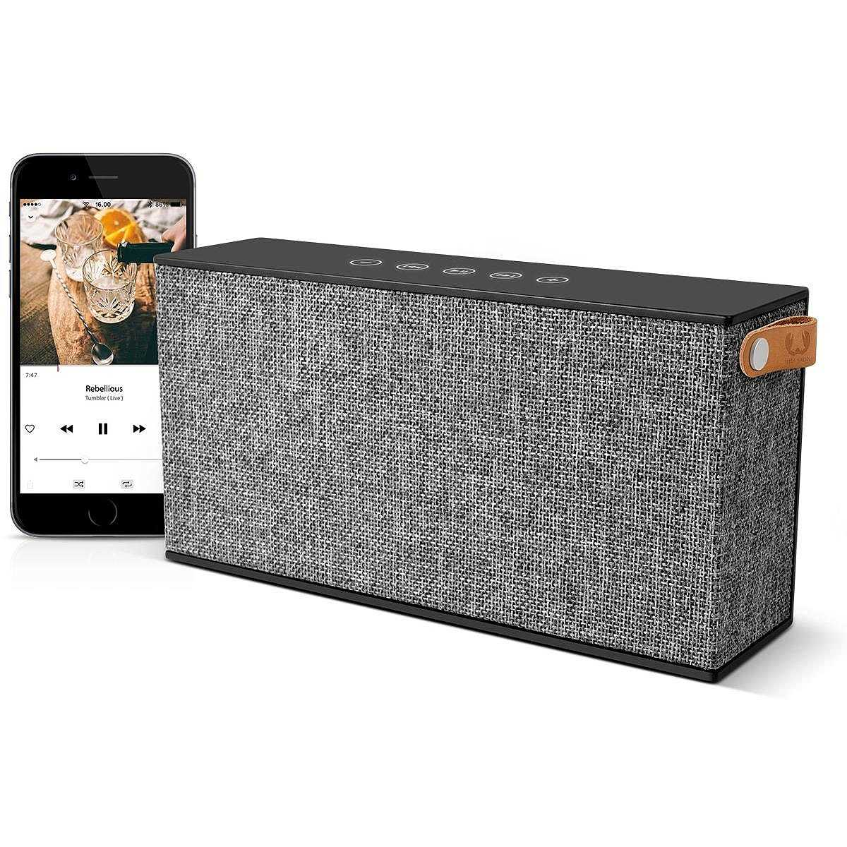 Nero Fresh N RebelRockbox Chunk Altoparlante Bluetooth