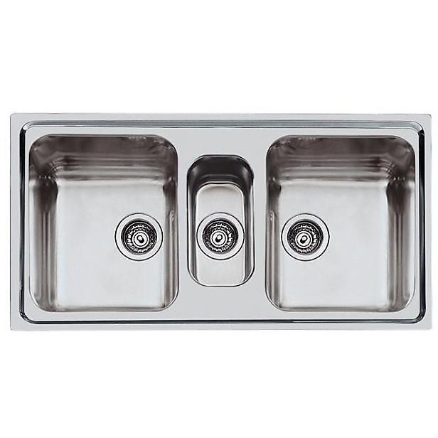 2173060 ks foster lavello 970x500 mm 3 vasche inox - Cappe e Lavelli ...