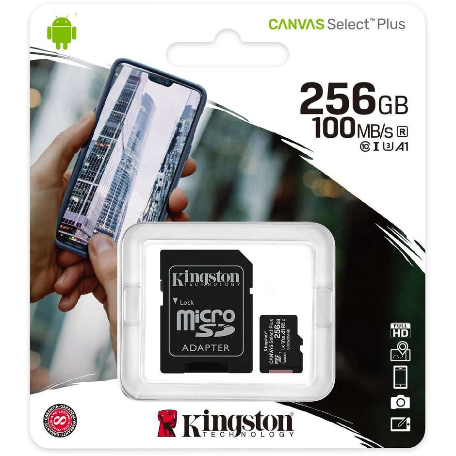 256gb micsd canvasselectplus+adp