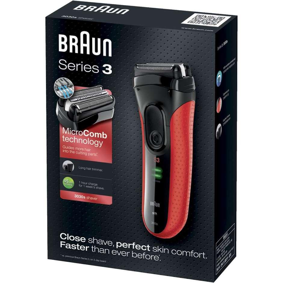 3030 braun rasoio elettrico a lamina series 3
