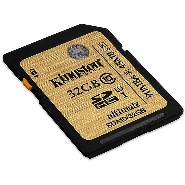 32gb sdhc class 10 uhs-i ultimate