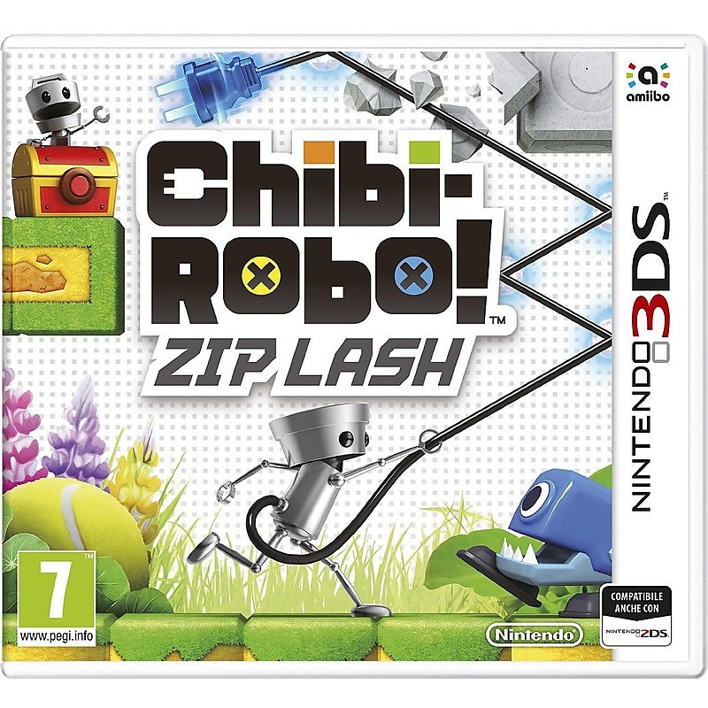 3ds chibi-robo lash