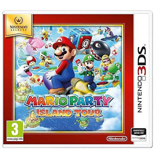 3ds sel mario party island tour