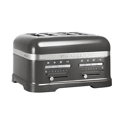 5kmt4205ems kitchenaid tostapane artisan grigio metallizzato