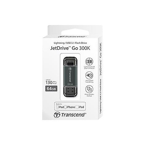 64gb jetdrive go 300 black plating