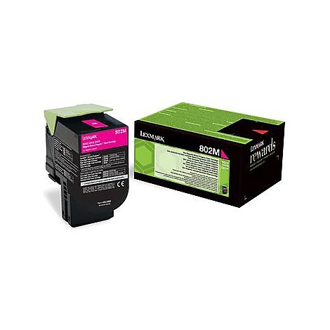 802m toner return program magenta