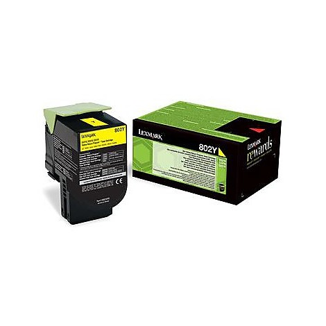 802y toner return program giallo