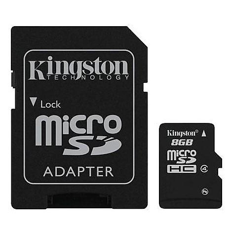 8gb micro sd  hc card class 4
