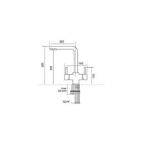 9103 cm 9103misccrm miscelatore cromato