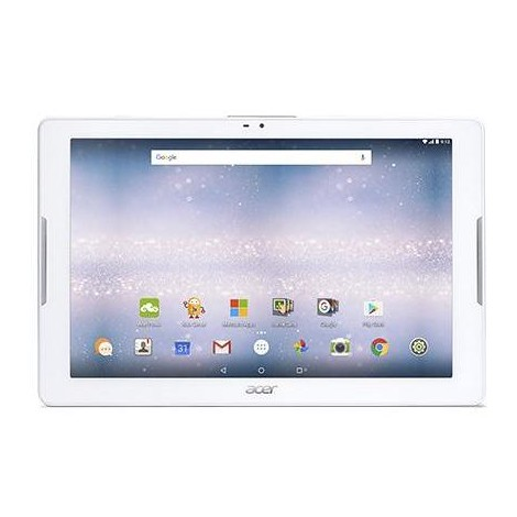 acer iconia one 10 b3 a40 k2yf tablet 10 1 android 7 0 memoria 32 gb colore bianco nt. Black Bedroom Furniture Sets. Home Design Ideas