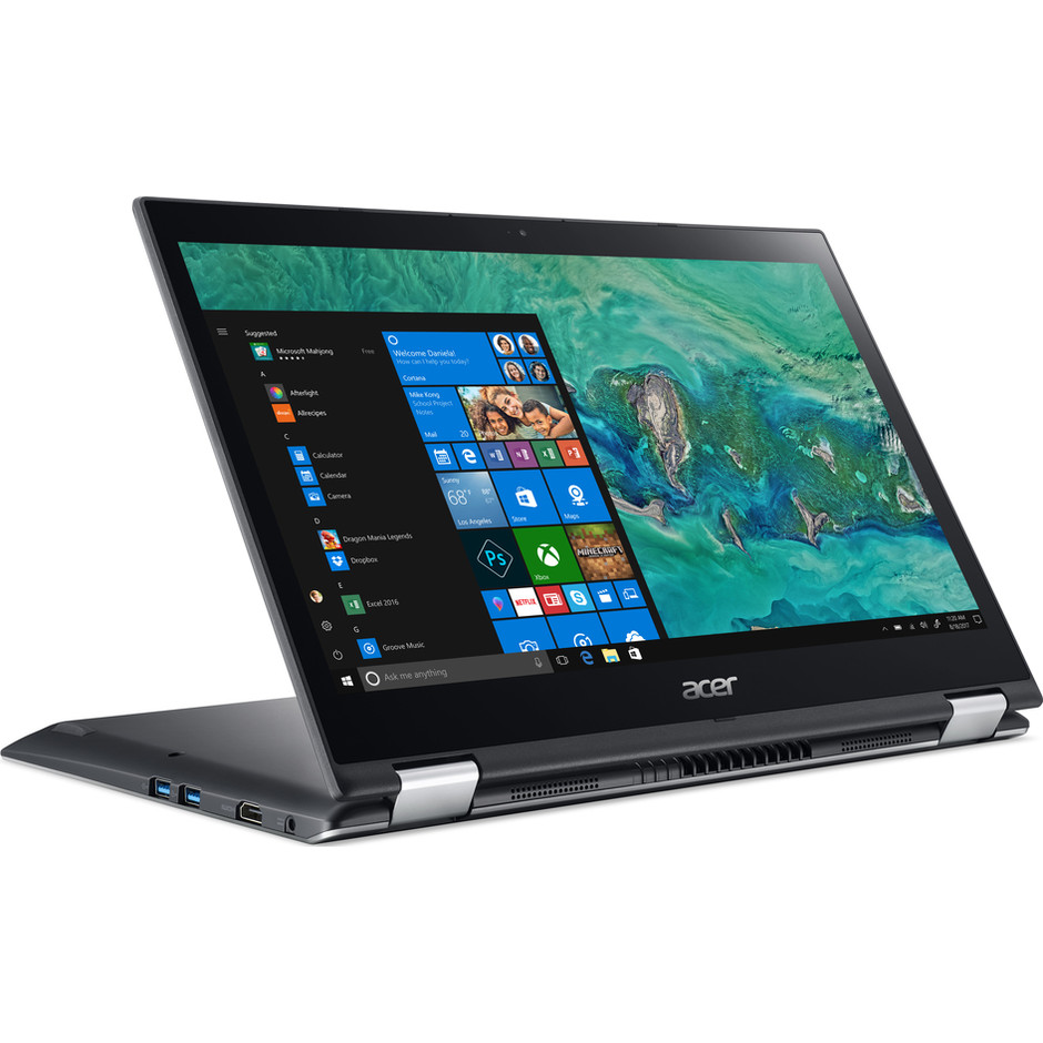 "Acer SP314-51-39BL notebook 2in1 14"" touch screen i3-8130 Ram 8 GB SDD 128 GB Windows 10 NX.GZRET.001"