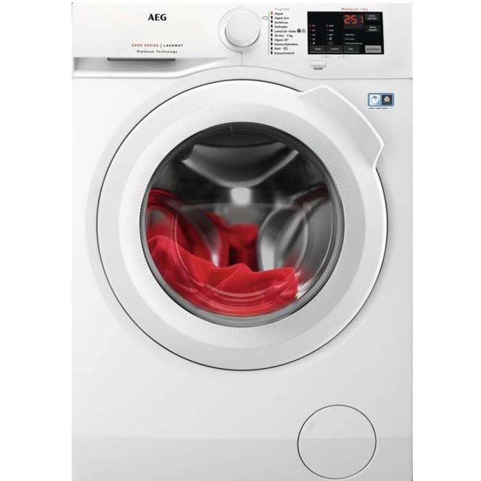 Aeg L6FBI841 lavatrice carica frontale 8 Kg 1400 giri classe A+++-20% colore bianco