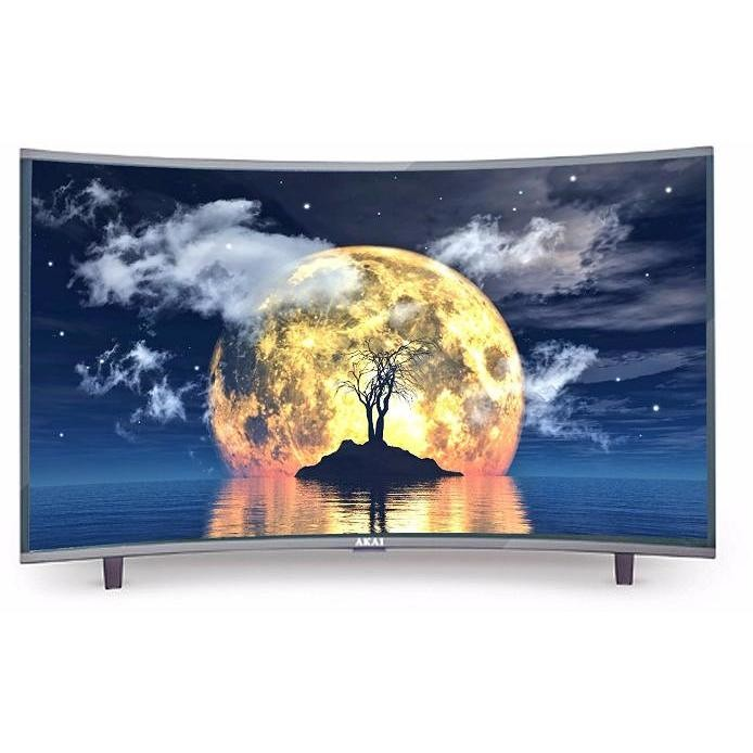 """Akai CTV-654TS TV LED 65"""" Curvo UHD 4K 3 HDMI 1 USB"""