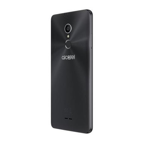 "Alcatel 3C Smartphone 6"" Dual Sim Processore Quad Core Ram 1GB Memoria 16GB Colore Metallic Black"