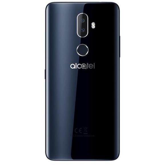 Alcatel 3V Smartphone Dual Sim Processore Quad Core Ram 2GB Memoria 16GB Fotocamera 16 MP Colore Nero