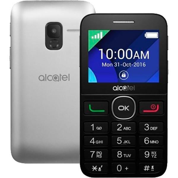 Alcatel ot 20-08g black metal silver