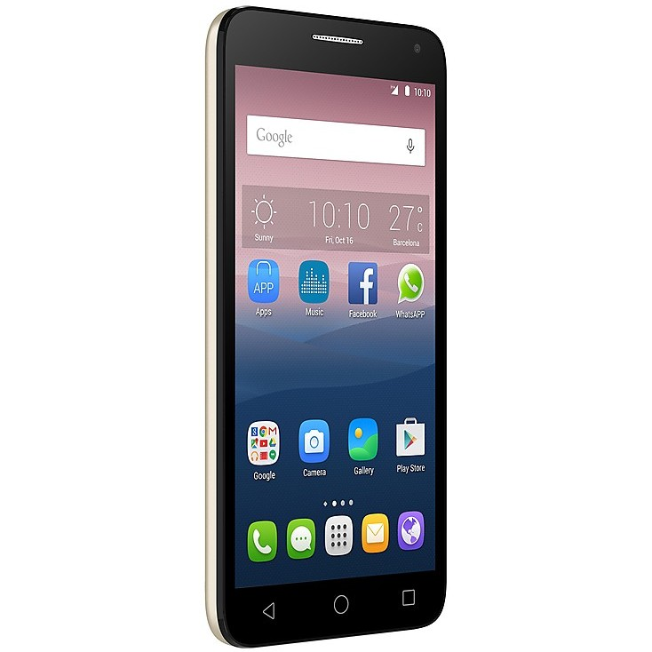 alcatel pop 3 5.5 soft gold