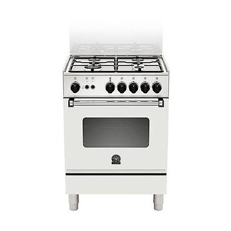 am-14051dwt la germania cucina 60 cm 4 fuochi 1 forno elettrico white