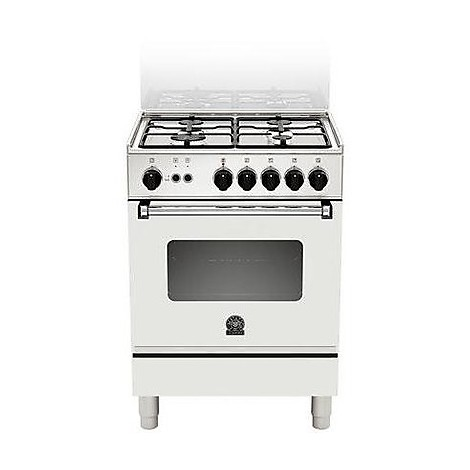 am-14071dw la germania cucina 60 cm 4 fuochi 1 forno a gas white