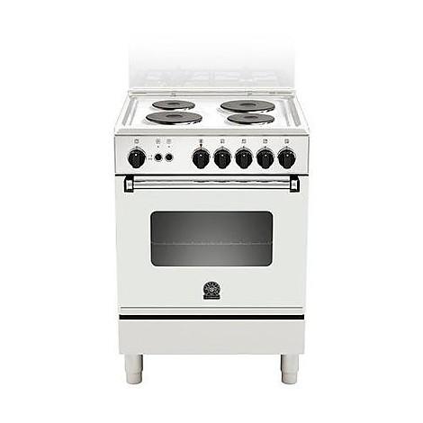 am-60440dw la germania cucina 60 cm 4 fuochi 1 forno elettrico white